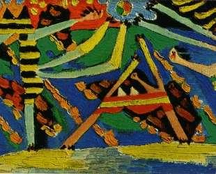 On the beach, Dinard — Пабло Пикассо