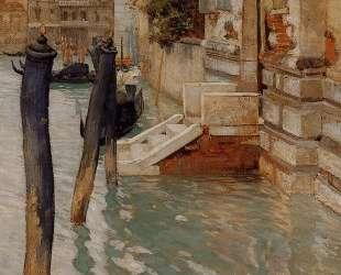 On the Grand Canal, Venice — Фриц Таулов