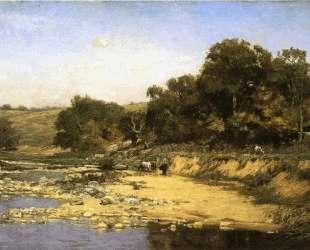 On the Muscatatuck — Теодор Клемент Стил