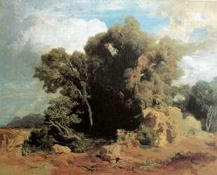On the Pontine swamps — Арнольд Бёклин