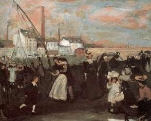 On the quai — Уильям Джеймс Глакенс