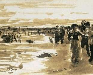 На берегу моря — Илья Репин