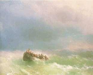 В шторм — Иван Айвазовский