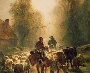 On the Way to the Market — Констан Труайон