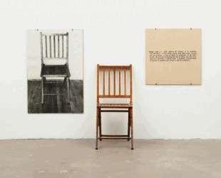 One and Three Chairs — Джозеф Кошут