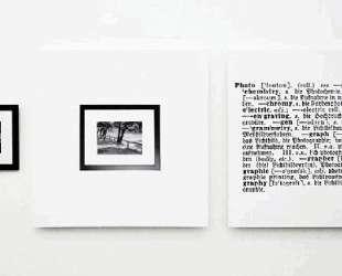 One and three photograph English-German — Джозеф Кошут