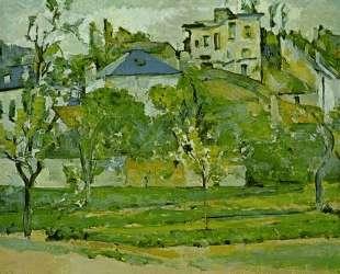 Orchard in Pontoise — Поль Сезанн