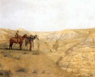 Painting Cowboys in the Bad Lands — Томас Икинс