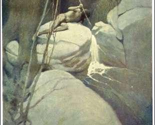 Painting of Native American — Ньюэлл Конверс Уайет