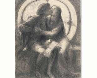 Paolo and Francesca — Данте Габриэль Россетти
