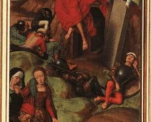 Алтарь Страстей (Триптих Гревераде), правое крыло — Ганс Мемлинг