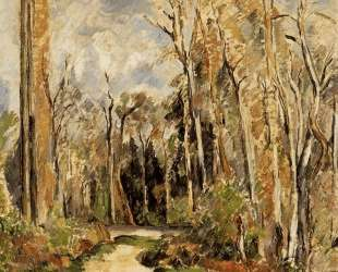 Path at the Entrance to the Forest — Поль Сезанн