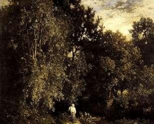 Path in a Small Wood — Констан Труайон