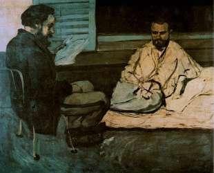 Paul Alexis Reading a Manuscript to Emile Zola — Поль Сезанн