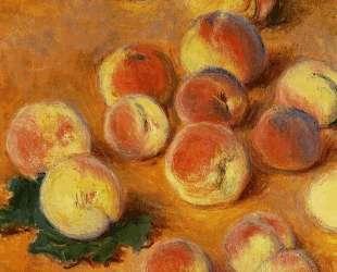 Персики — Клод Моне