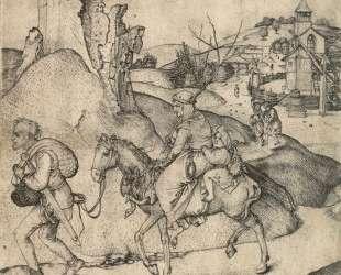 Peasant Family Going to the Market — Мартин Шонгауэр