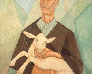 Peasant Farmer with his Goat — Маревна