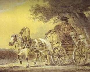 Peasant in a Cart — Александр Орловский