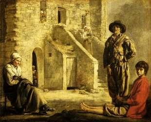 Peasants at their Cottage Door — Братья Ленен