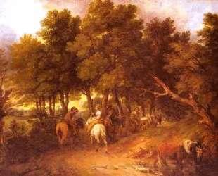 Pesants Returning from Market — Томас Гейнсборо