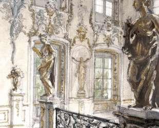 Петергоф. Купеческая лестница в Большом дворце — Александр Бенуа