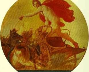 Феб на колеснице — Карл Брюллов