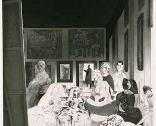 Picasso's meninas — Ричард Гамильтон