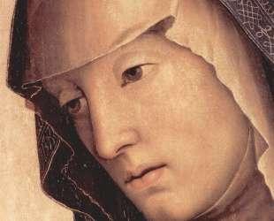Пьета. Мария (деталь) — Пьетро Перуджино