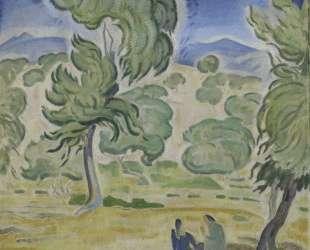 Pine Trees on Kerkyra — Константинос Партенис