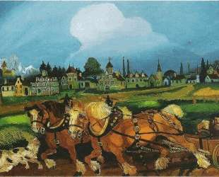 Planting with horses — Антонио Лигабуэ