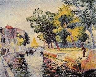 Ponte San Trovaso — Анри Эдмон Кросс