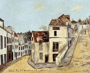 Pontoise, l'Eperon Street and Street de la Coutellerie — Морис Утрилло