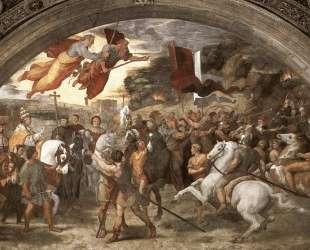 Pope Leo I Repulsing Attila — Рафаэль Санти