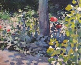 Маки в саду — Виктор Борисов-Мусатов