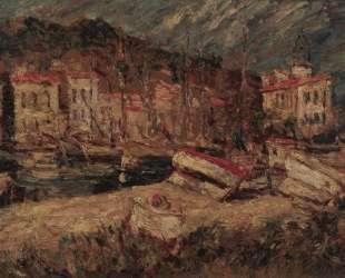 Port of Cassis — Адольф Жозеф Тома Монтичелли