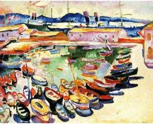 Порт в Ла-Сьота — Жорж Брак