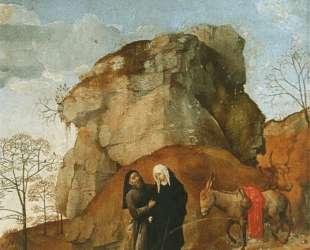 Portinari Triptych (detail) — Хуго ван дер Гус