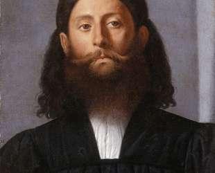 Portrait of a bearded man (Giorgione Barbarelli) — Лоренцо Лотто