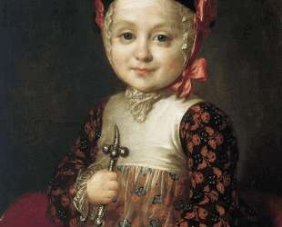 Portrait of Count Alexey Bobrinsky as a Child — Фёдор Рокотов