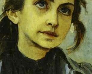 Portrait of a Girl (Study for Youth of St. Sergiy Radonezhsky) — Михаил Нестеров
