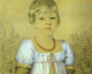 Portrait of a Girl — Иоганнес Иттен