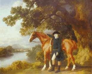 Portrait of a Huntsman — Джордж Стаббс