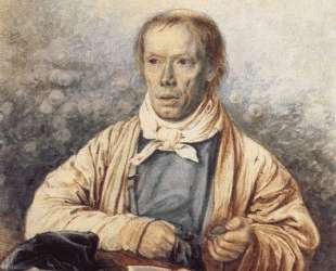 Portrait of A. I. Fedotov, the Artist's Father — Павел Федотов
