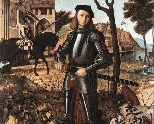 Portrait of a Knight — Витторе Карпаччо