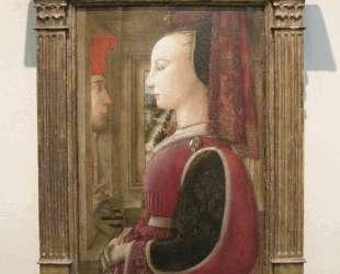 Portrait of a Man and Woman at a Casement — Филиппо Липпи