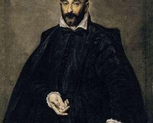 Портрет мужчины (Андреа Палладио) — Эль Греко