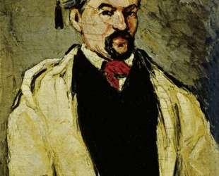 Portrait of a Man in a Blue Cap, or Uncle Dominique — Поль Сезанн