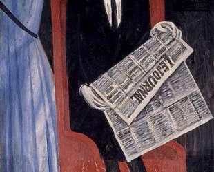 Portrait of a Man With a Newspaper — Андре Дерен