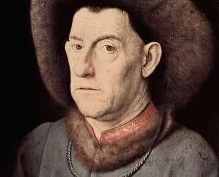 Портрет мужчины с гвоздикой — Ян ван Эйк