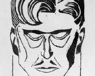 Portrait of a man — Тео ван Дусбург